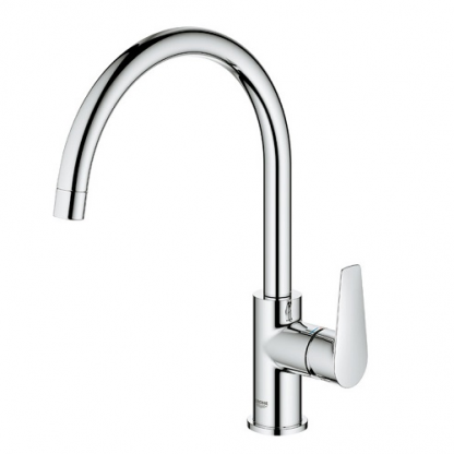 Tap, Single Lever, Contemporary Mixer Tap, BauEdge, Grohe