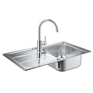 Kitchen Sink and Tap Set Grohe K400