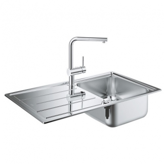 Kitchen Sink and Tap Set Grohe K500
