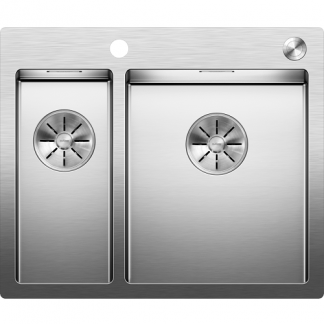 Blanco Stainless Steel Sinks Claron 340-180-IF-A