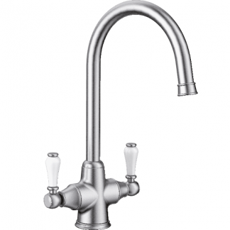 Sink Mixer Tap Blanco Vicus Pewter