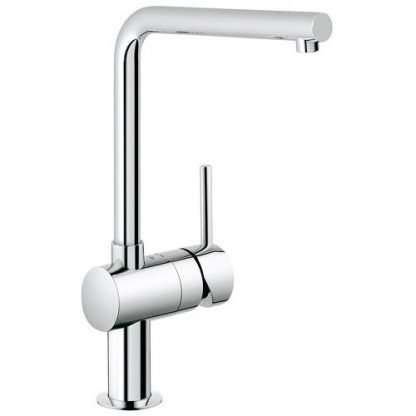 Mixer Tap, Single Lever Monobloc, L-Spout, Grohe Minta Contemporary
